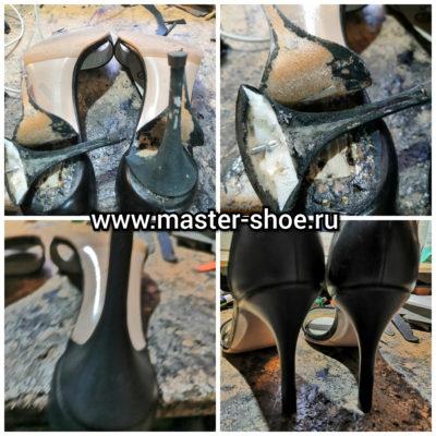 Замена каблуков на туфлях