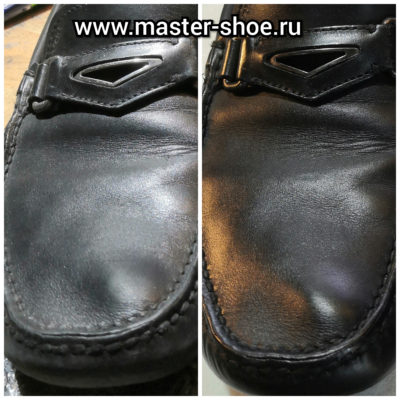 Реставрация кожи обуви