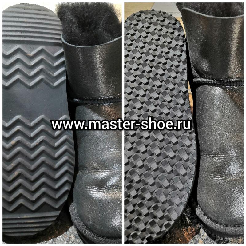 Наши работы по ремонту обуви